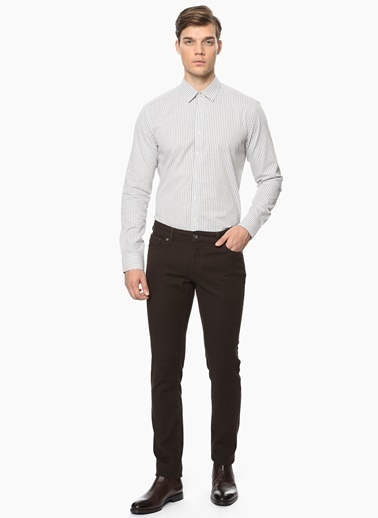 George Hogg Slim Fit Pantolon Kahve